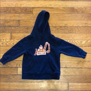 Excavator hooded sweatshirt